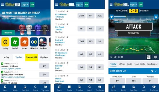 williamhill mobile